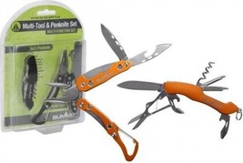 Summit 6 In 1 Multitool And 9 In 1 Penknife Set. - $18.09