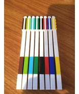 LEGO 8 Count Colored Gel Pens Brand New No Box - $19.59