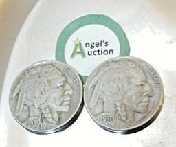 Buffalo Nickel 1930 S and 1930  AA20BN-CN6087 image 2