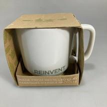 Starbucks Reinvent 2009 Coffee Mug 12 oz NEW Toki Japan Recycled Clay - $27.93