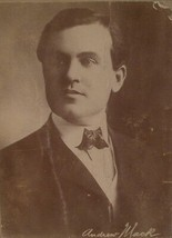 Cabinet Photo of Vaudevillian Andrew Mack - $10.00