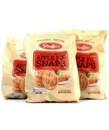 3 Bags Stauffer's 14 Oz Apple Pie Snaps Original Recipe Best By 4/9/2022 - $37.99