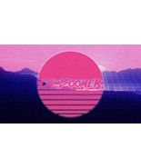 Ok, Boomer Vaporwave Synthwave Retrowave Sun Meme Vinyl Sticker for Car, Laptop