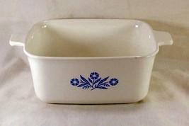 Corning Ware Cornflower Blue 1 1/2 Qt Loaf Pan P-4-B - $6.92