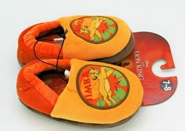 Disney Lion King Simba Child's Slippers Size 7-8 - $8.86