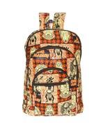 African Kente Cloth Adult Sized Backpack Bob Marley - $49.00
