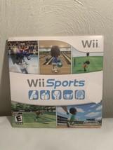 Wii Sports (Nintendo Wii, 2006) Game, Manual, Cardboard Sleeve Tested Wo... - $24.74