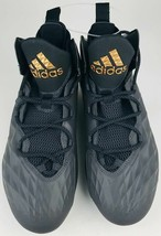 BRAND NEW!!! (size9.5 ) Adidas Freak Lax Mid Lacrosse Cleats !!! (Black/... - $33.85