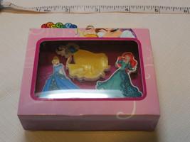 Jibbitz Princesa Disney 3 Pack Zapato Charm Crocs Accesorio AA-SS15-PCS0... - $10.88