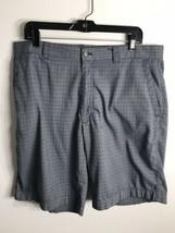 Callaway Golf Men's Athletic Flat Front Shorts Plaid Size 36 - $16.78