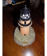 2000 Geo Lefton Gay Head Martha's Vineyard Ceramic Lighthouse 1856 EUC - $43.12