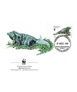 August 27, 1999 Republic Haiti Port of Prince First Day of Issue Rock Ig... - €2,71 EUR