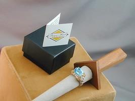 Victoria Wieck Sterling & Vermeil Blue Topaz Star Fish Ring NIB 9 - $114.99