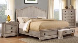 MYCO Furniture ED510-Q Edelmar Rustic White Oak... - $1,050.00