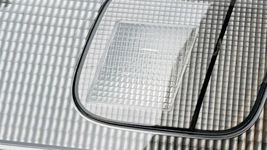 98-99 Nissan Sentra B14 Tail Light Center Reflector Panel Carbon Fiber Look image 6