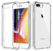 Hybrid Shockproof Thin Clear TPU Bumper Case Fits iPhone 7 & Iphone 8 - $5.97