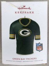 Hallmark 2018 Keepsake NFL Green Bay Packers Jersey Ornament - Small Box... - $10.95