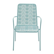 Blue Metal Outdoor Chair - $138.84