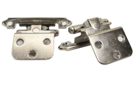 "Amerock BP3428G10 Hinge 3/8"" Self-Closing Face Satin Nickel 4/Pack - $26.78"