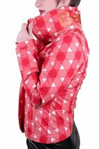 Bench UK Urbanwear Womens BBQ Barbecue Star Red Jacket w Hood BLKA1552 NWT image 4