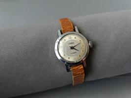 Soviet Ladies Watch Slava Vintage Women's Watch Сlassic Ladies Watch Mec... - $42.89