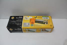 "QEP 10214  14"" Tile Cutter With 1/2"" Cutting Wheel Used - $8.99"