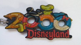 Disneyland Keychain 2000 Pluto Mickey Mouse Goofy Donald Disney Parks Souvenir - $6.80