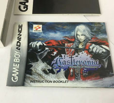 GBA Castlevania Harmony Of Dissonance  BOX & MANUAL ONLY No Game image 7