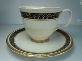 Pickard Black Sapphire Cup and Saucer Set - $15.83