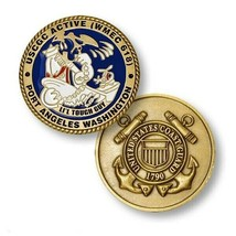 "COAST GUARD USCGC ACTIVE WMEC-618 1.75"" CHALLENGE COIN - $18.04"