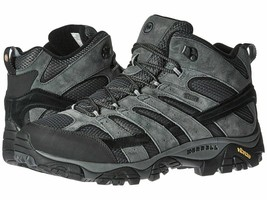 Mens Merrell Moab 2 Mid WaterProof Hiking Boot Granite J06055 SZ 11.5 NE... - $115.00