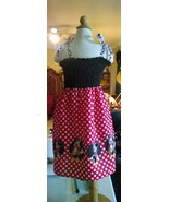 Minnie Mouse Disney Summer Smock Top Dress Made to Your Size - $20.00