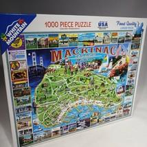 White Mountain Jigsaw Puzzle 1000 Piece Mackinac Island #468 NOB Sealed ... - $29.95