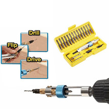 Double Driver Drill Screwdriver Set Bits Electric Ended New Cross Head 2... - $21.77