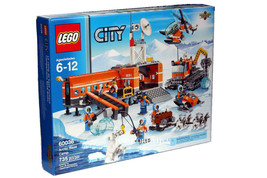 LEGO ARCTIC BASE CAMP # 60036 - 735 PIECES + 7 MINI FIGURES NEW SEALED M... - $188.09