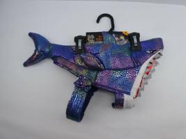 Thrills & Chills Shark Halloween Dog & Cat Costume, Iridescent Colors, S... - $10.89