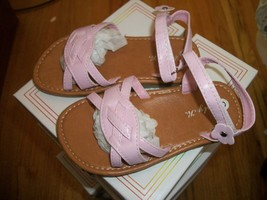 Toddler Girls pink Sandal size 6 from Esty K. Brand New in box - $10.00