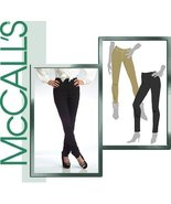 MCCALLS M5273 SKINNY PANTS ~ 3 STYLES (SIZE 4,6,8,10,12) SEWING PATTERN - $16.17