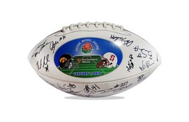 2015 Stanford Cardinal team signed football w/Certificate autographed (47) - $203.94