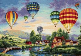 Balloon Glow Cross Stitch Pattern***LOOK*** - $4.95