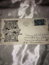 1947 First Day Cover A Century Of Postal Progress G224 - $14.89