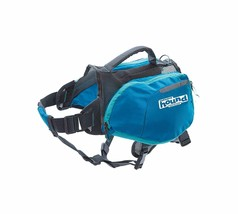 Dog Backpack Pet Carrier Saddle Hiking Camping Outdoor Walking Water Foo... - $59.26