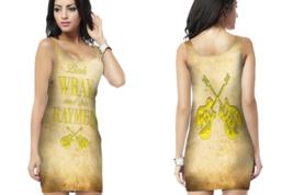 Link Wray & His Raymen  Womens Bodycon Sleeveless Short Mini Dress - $17.99+