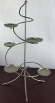 Partylite 6 Candle Holder  Metal Stand - $18.70