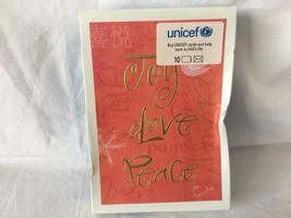 Hallmark UNICEF Christmas Holiday Greeting Cards Joy Love Peace NEW - $10.99