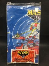 """Vintage M.A.S.K.  Paper Table Cover 54""""x88"""" New Old Stock - $19.99"""