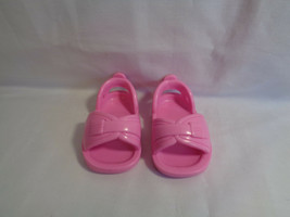 Mattel 2005 Viacom Replacement Pink Doll Shoes Sandals  - $2.55