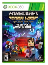 Minecraft: Story Mode- The Complete Adventure - Xbox 360 [video game] - $9.31