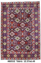 Persian Carpet Handmade 7' x 13' Tabriz Rug - $1,142.04