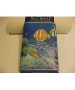 Wallpaper Border Norwall Prepasted Washable Aquarium Ocean Marine Life - $8.90